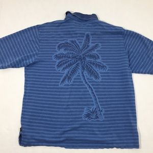 Men's Tommy Bahama Embroidered Golf Polo Shirt M